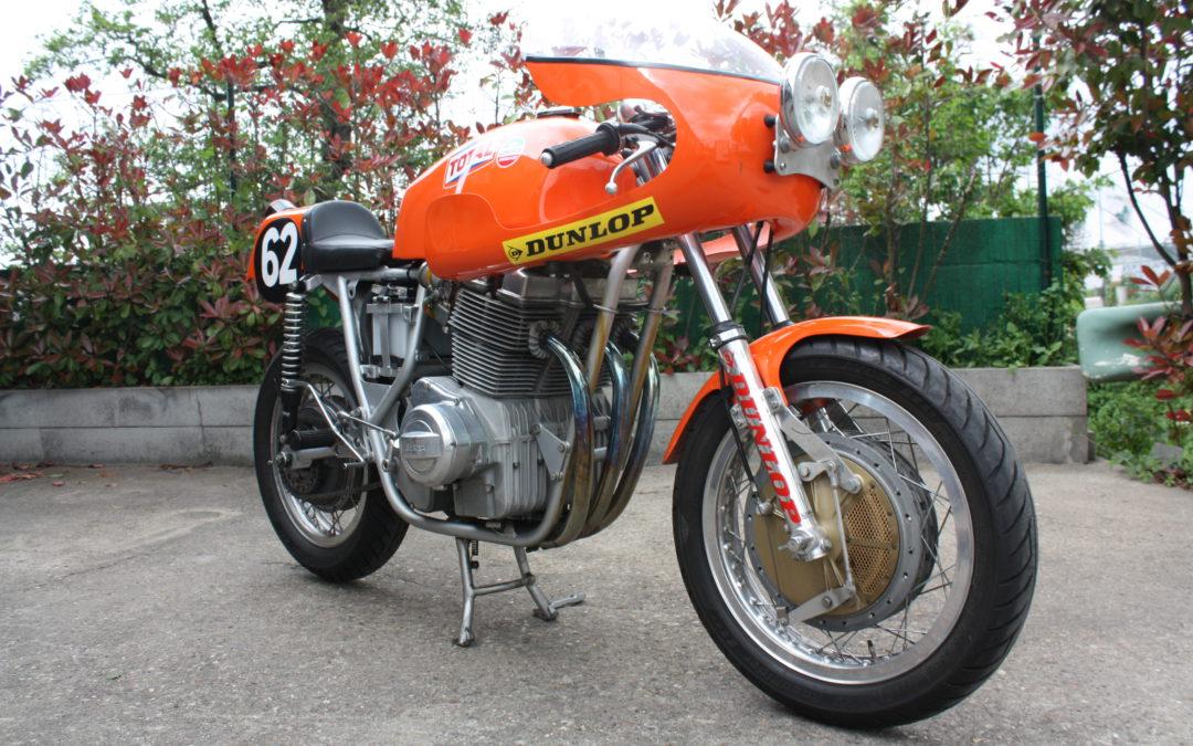 Bol d'Or 1972 Laverda 3CL 1000 Endurance Racer